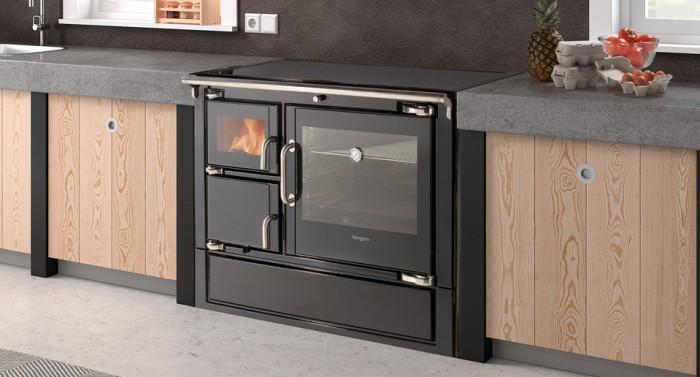 Cocina moderna de biomasa