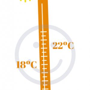 Temperatura ideal interior