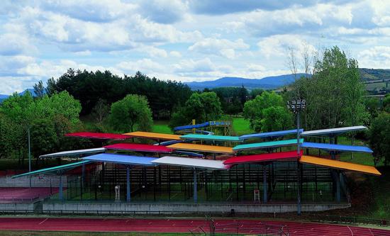 edificios innovadores polideportivo